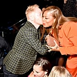 Queen Latifah and Jesse Tyler Ferguson at the VMAs