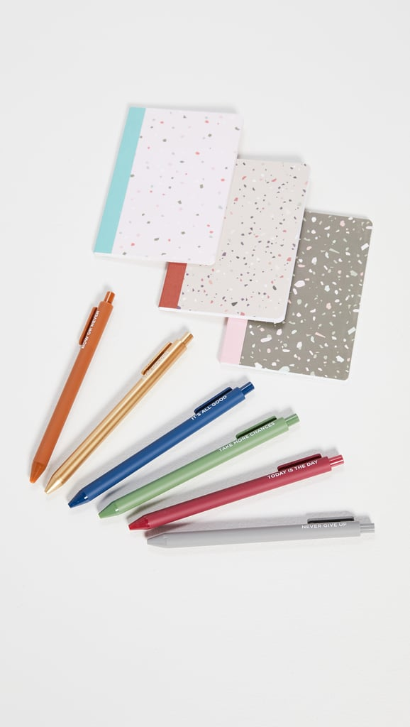 Mini Notebook and Pen Set