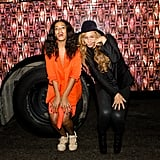 Beyoncé and Solange Knowles were silly and stylish at the Prospect 3 Fair in New Orleans on Sunday.