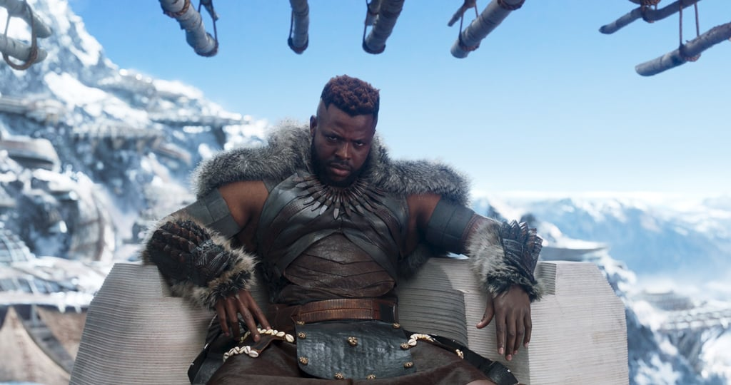 Reactions to M'Baku in the Black Panther Movie