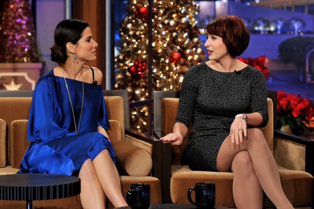 Sandra Bullock and Diablo Cody had great back and forth on The Tonight Show With Jay Leno.