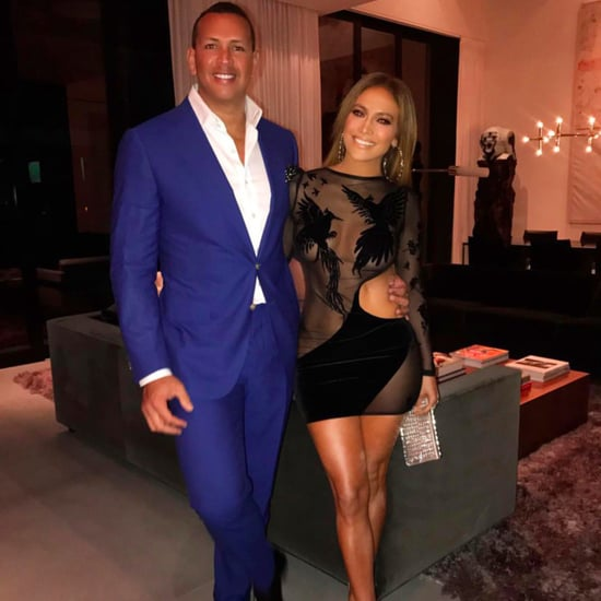 Jennifer Lopez Birthday Dress 2017