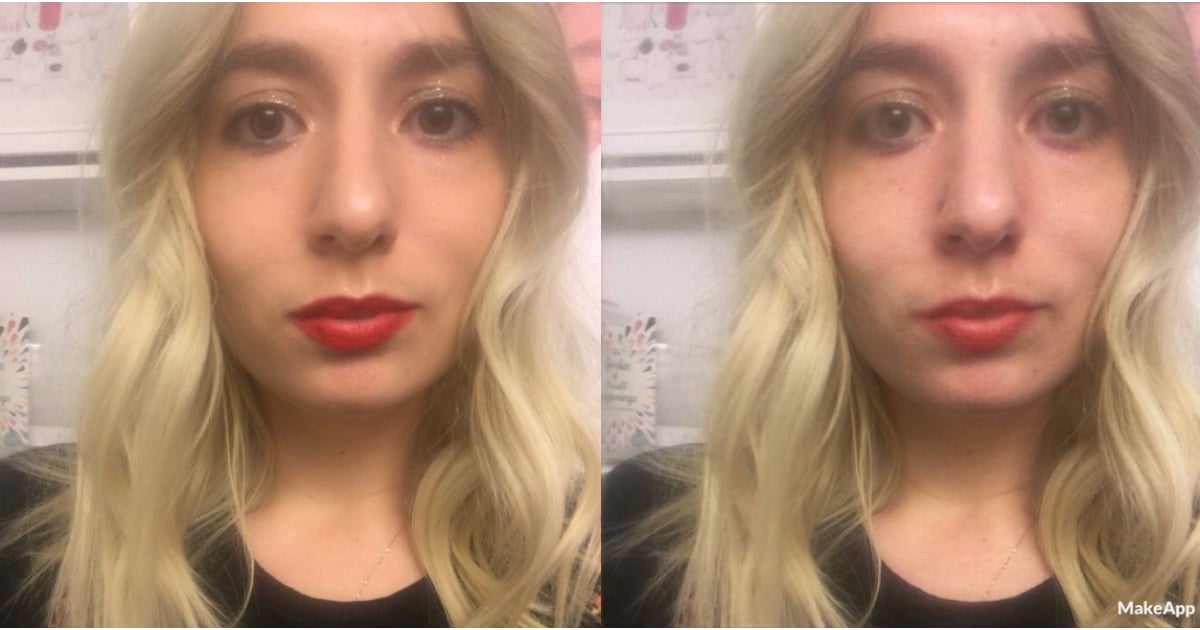 App That Shows Women With No Makeup On