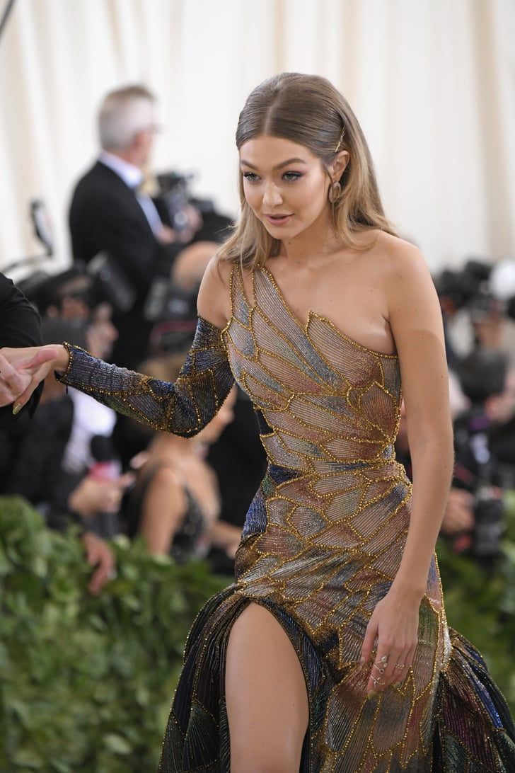 Gigi Hadid In Versace At The 2018 Met Gala Popsugar