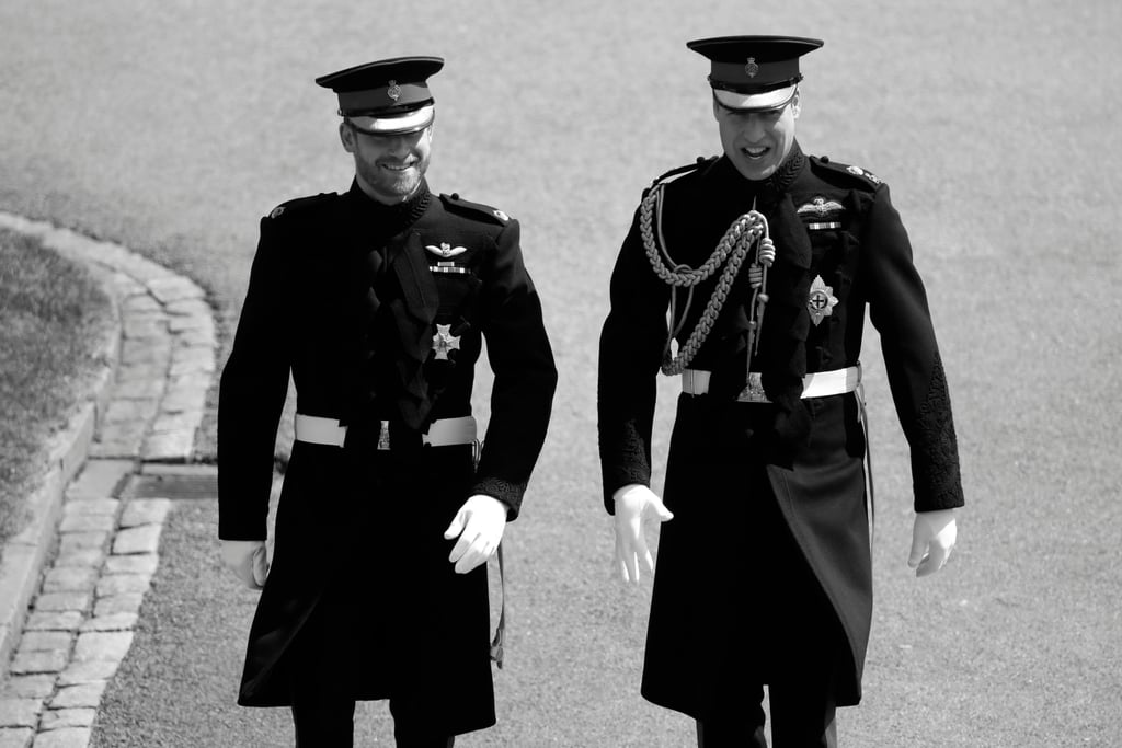 Royal Wedding 2018 Black and White Pictures
