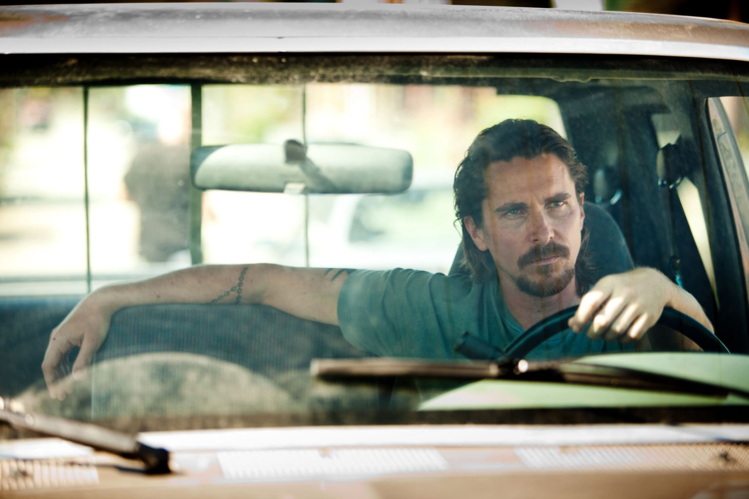 Out of the Furnace  What it's about: Christian Bale stars as a man investigating the disappearance of his younger brother (Casey Affleck) when the latter gets involved with a local crime boss (Woody Harrelson). Why we're interested: Bale and Affleck star alongside Zoe Saldana, Harrelson, and Forest Whitaker in what looks like a fantastically gritty thriller. Bale always turns in great performances, so I'm looking forward to seeing him seek some vigilante justice. When it opens: Dec. 6 Watch the trailer for Out of the Furnace.  Source: Relativity Media