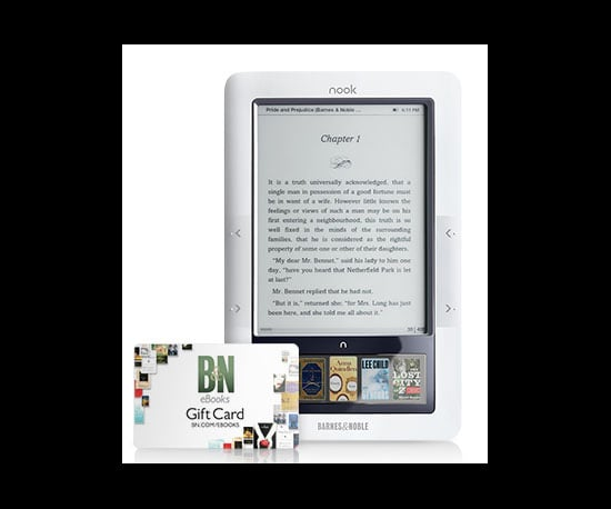 Buy a Nook, Get a $50 Gift Card