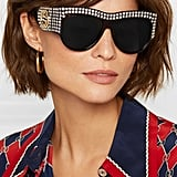 Gucci Embellished D-Frame Tortoiseshell Acetate Sunglasses