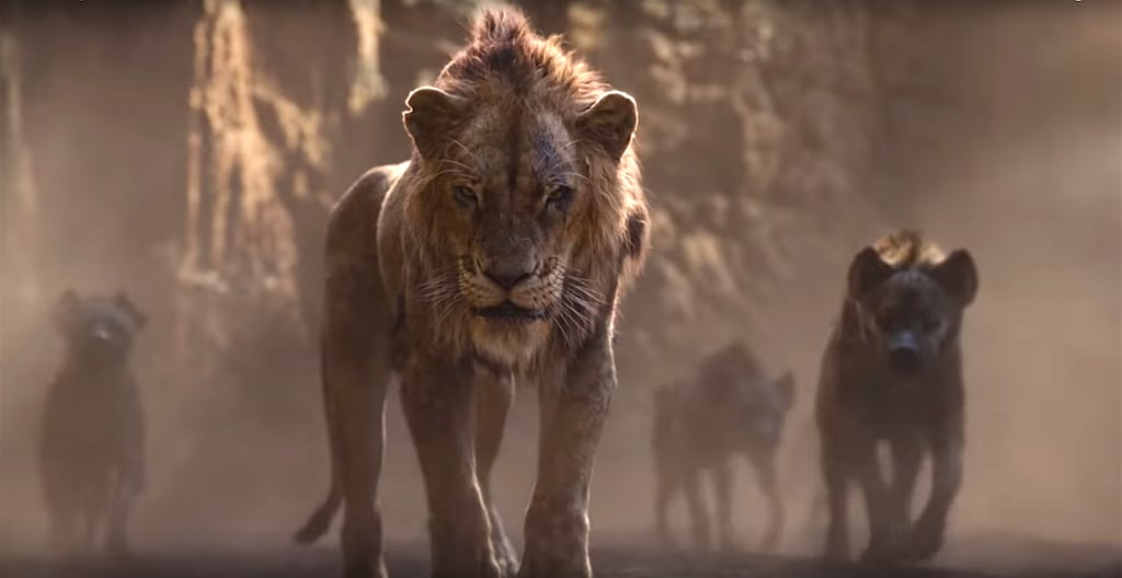 Reactions to Scar in The Lion King Reboot Trailer