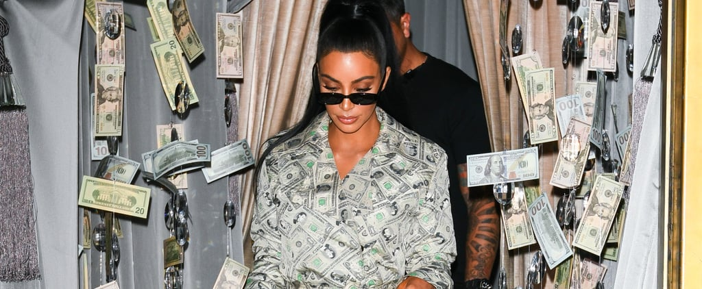 Kim Kardashian Money Outfit by Jeremy Scott 2018