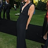 Victoria Beckham's Black Maxi Dress
