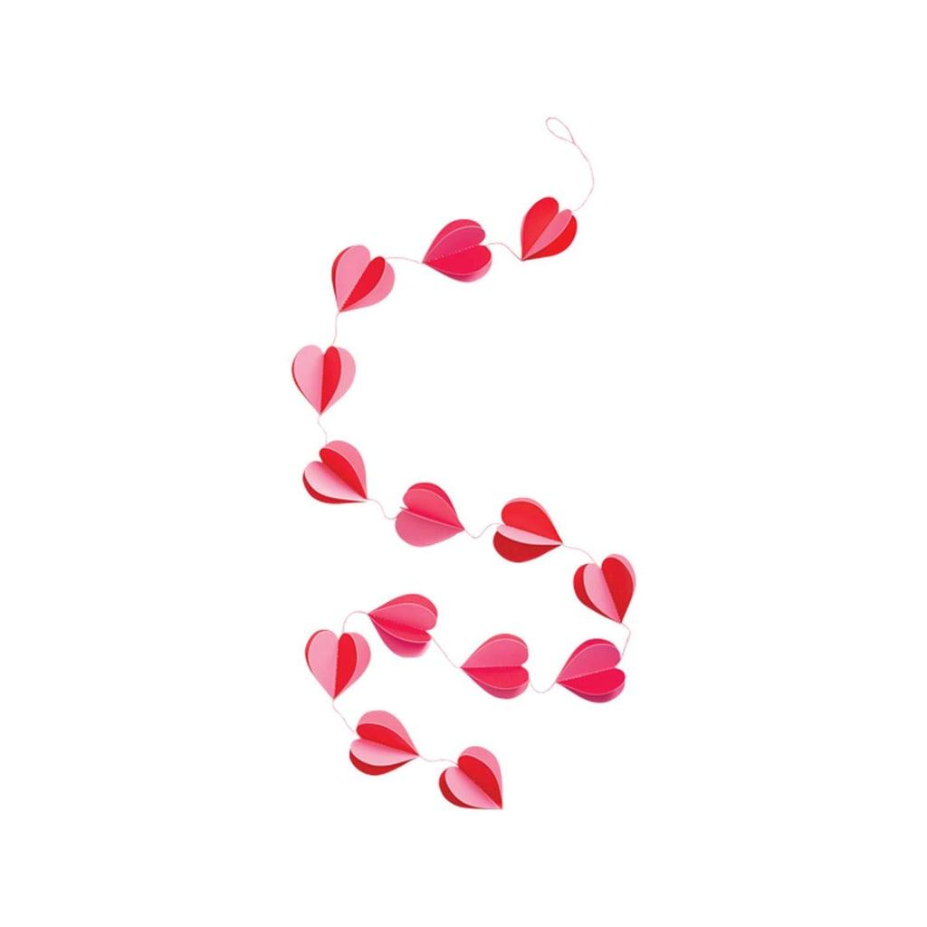 Paper Hearts Garland