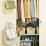 Add Hooks to Closet Doors