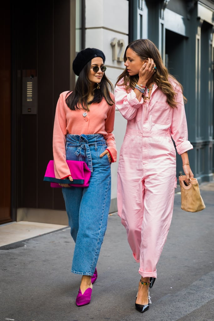 When you think pink — and your friend does too.