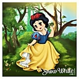 Disney Snow White Chibi