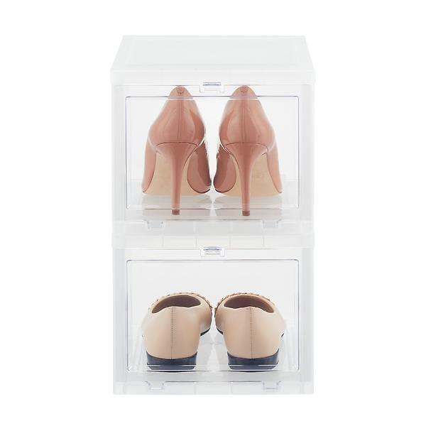 Women's Drop-Front Shoe Box