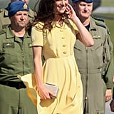 Kate Middleton's bright yellow dress is the latest in her chic summery looks.
