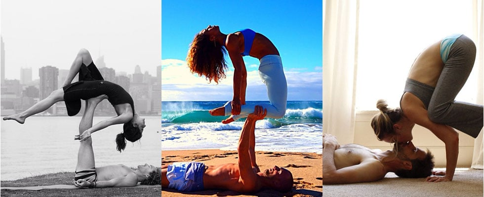 15 Pictures of Couples Doing Acroyoga