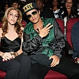 Julie Greenwald and Bruno Mars
