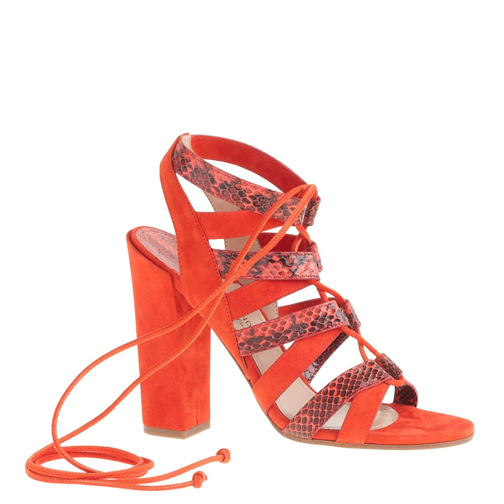 While I'm truly not big into heels, styling these Paul Andrew x J.Crew snakeskin lace-ups ($598) for a fashion shoot was really fun. I couldn't believe how comfortable they were, and they gave me a major confidence boost, seeing as they're so eye-catching! — Sarah Wasilak, editorial assistant