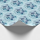 Harry Potter Aguamenti Hogwarts Crest Wrapping Paper
