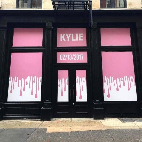 Kylie Jenner's New York City Pop-Up Shop | February 2017