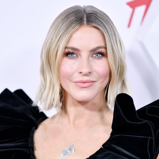 Julianne Hough Dyed Her Hair Pink at Home