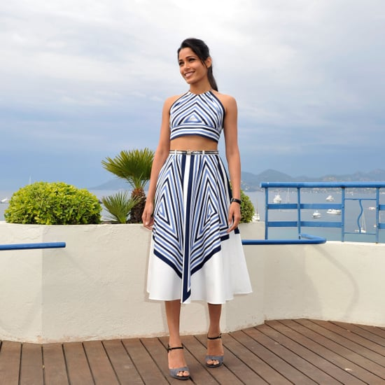 Freida Pinto Pictures at Desert Dancer Cannes Photocall