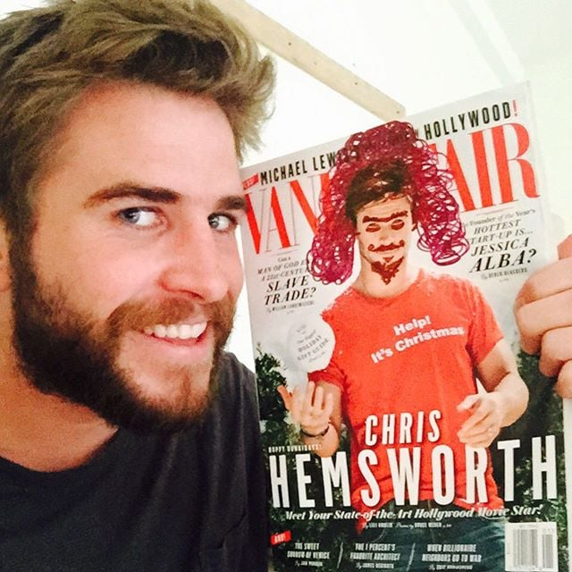 When He Made Fun of His Brother's Magazine Cover