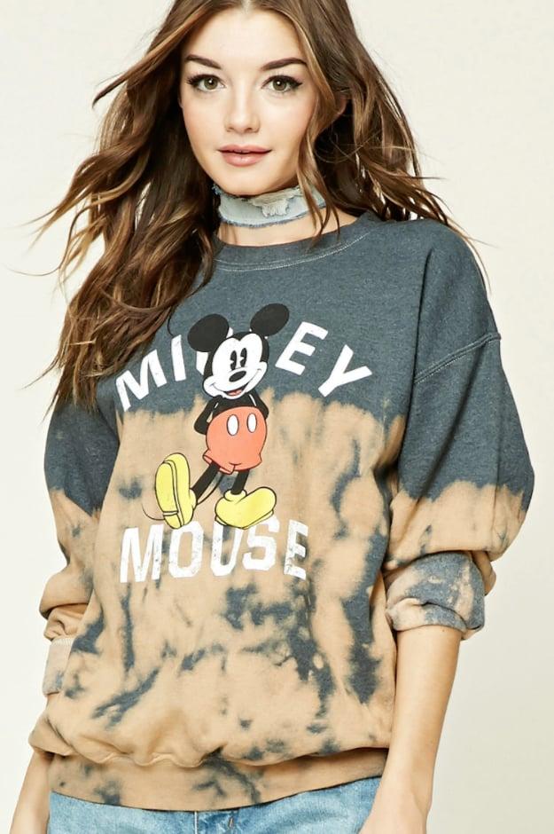 Dip-Dye Mickey Sweatshirt ($23)