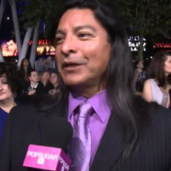 Gil Birmingham Interview at Breaking Dawn Premiere Video