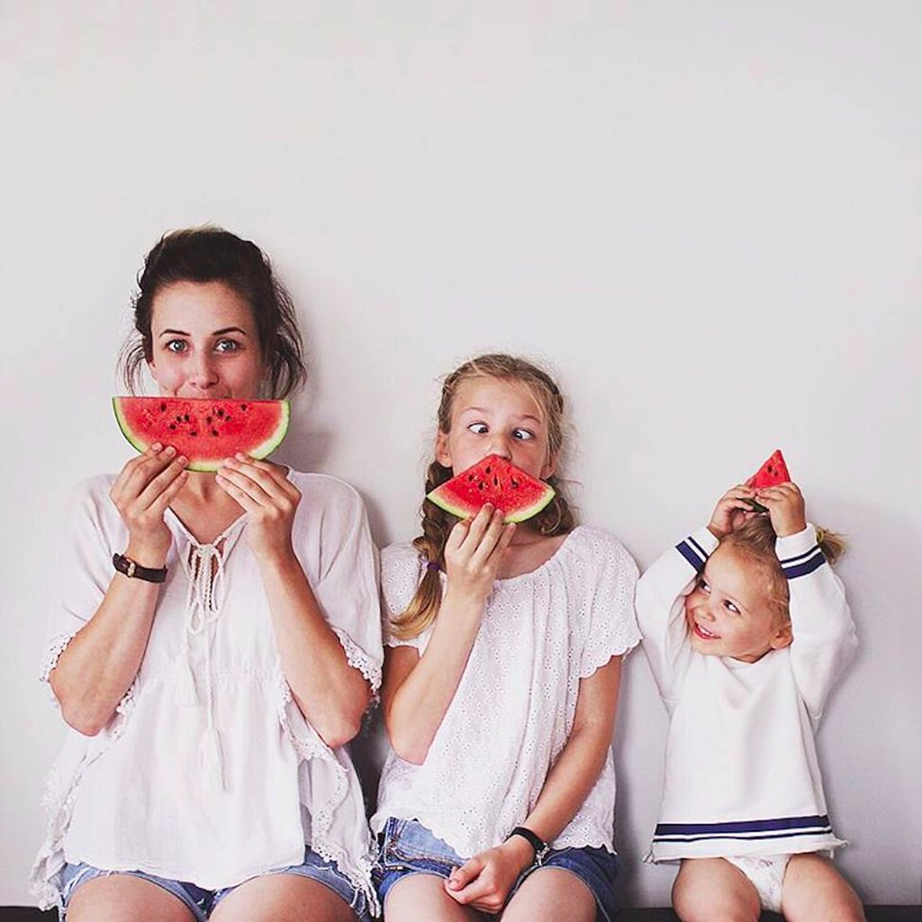 Mother and Daughters Dress Alike in Weekly Photo Series