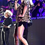 Taylor Swift's Black Lanvin Boots