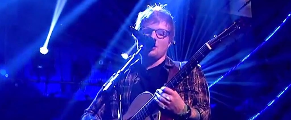 Oops! Ed Sheeran Forgets the Words to His Song During Red Nose Day Performance