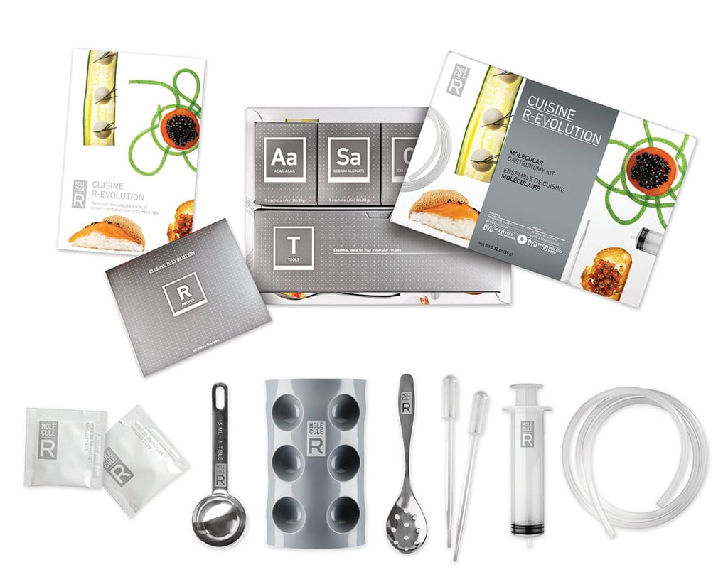 This molecular gastronomy kit ($49-$65) uses chemistry to create tasty meals.