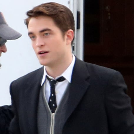 Robert Pattinson's Expressions on the Set of Life | Photos