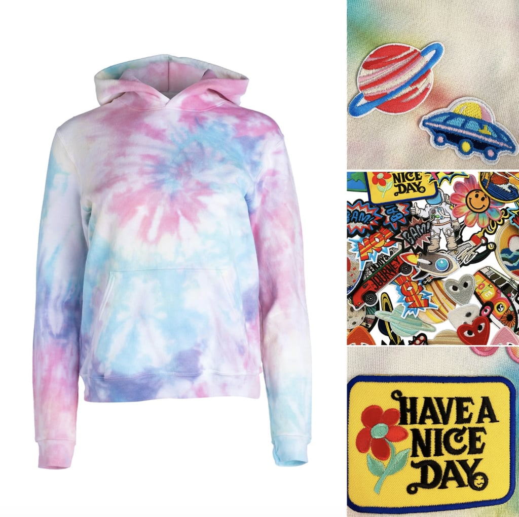 Dannijo Deluxe Tie Dye Hoodie and Patch Kit