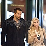 Bradley Cooper with Melanie Laurent in Paris.