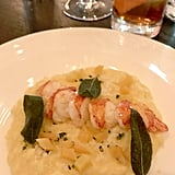 I'll be dreaming about the lobster risotto with butternut squash and sage for weeks.