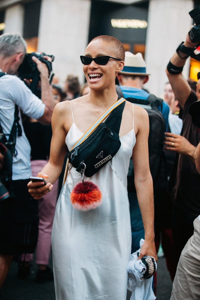 Adwoa Aboah With a Prada Bag