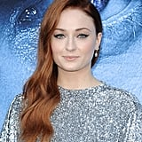 Sophie Turner With Red Hair