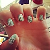 We can't get over the detail of this intricate lace manicure. Source: Instagram user hazelfirth