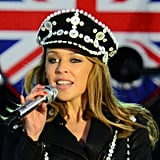 7. Kylie Minogue's Military Beauty Look