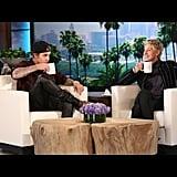 On The Ellen DeGeneres Show (Again)