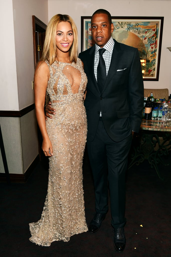 Beyoncé Knowles premiered Life Is But a Dream in NYC with her husband, Jay-Z.