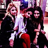 Selena Gomez staged a Spring Breakers reunion with her friends Ashley Benson and Vanessa Hudgens. Source: Instagram user selenagomez