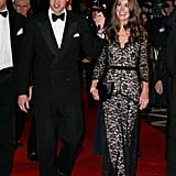 Prince William and Kate Middleton attended the London premiere of War Horse in January 2012.