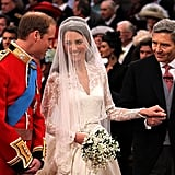 Will and Kate Laughing at the Altar, 2011