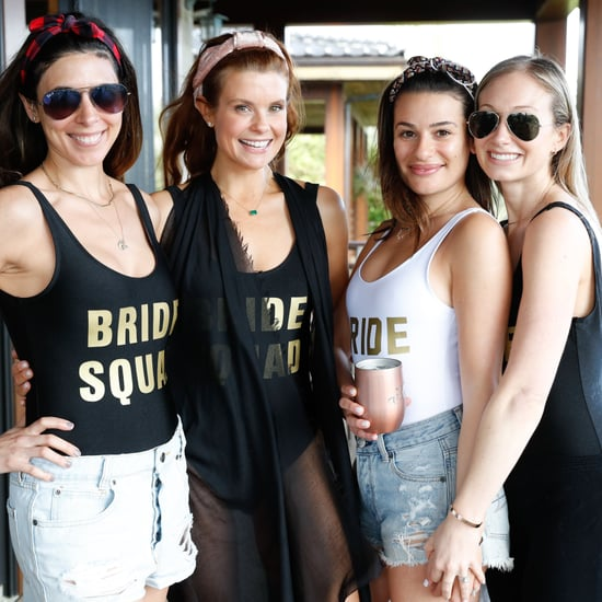 Lea Michele Bachelorette Party Pictures