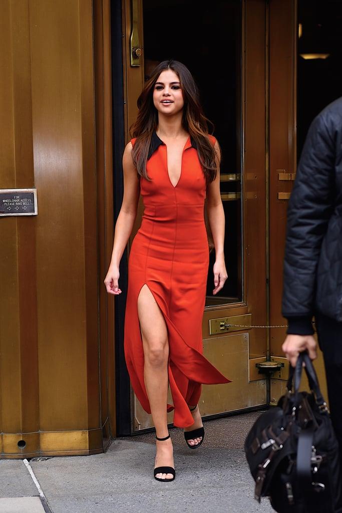 Selena Gomez S Sexiest Dresses Popsugar Fashion